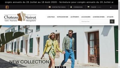 Site internet de Chateau Noirot
