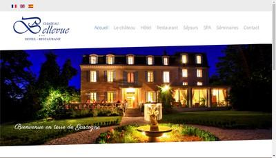 Site internet de Chateau Bellevue