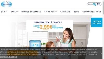 Site internet de Le Chateau d'Eau