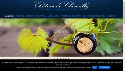 Site internet de Chateau de Chamilly