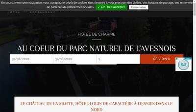Site internet de Chateau de la Motte