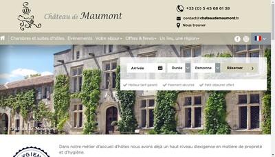 Site internet de Chateau de Maumont