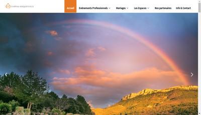 Site internet de Le Parc du Chateau de Roquefeuille