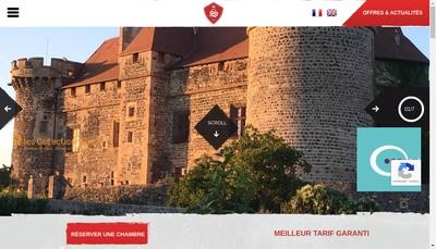 Site internet de Chateau Royal de Saint Saturnin