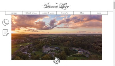 Site internet de Chateau de Vallery