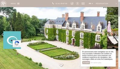 Site internet de Chateau de l'Epinay