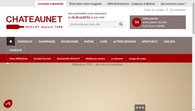 Site internet de Chateaunet