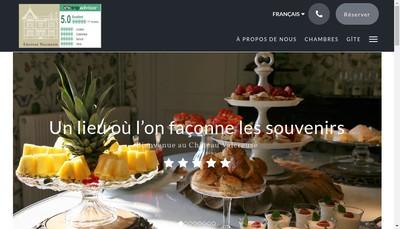 Site internet de Chateau Valcreuse