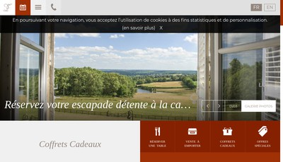 Site internet de Chateau d'Ygrande