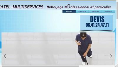 Site internet de Chatel-Multiservices