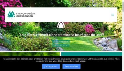 Site internet de Francois-Regis Chaudanson