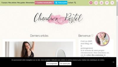 Site internet de Chaudron Pastel
