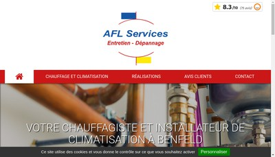 Site internet de Afl Services