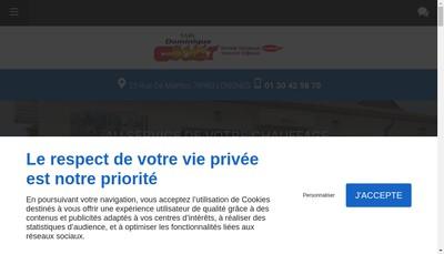 Site internet de Cholet Dominique