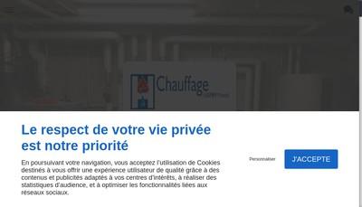 Site internet de Chauffage Hamm Marcel