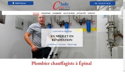 Site internet de Chauffage Ludo