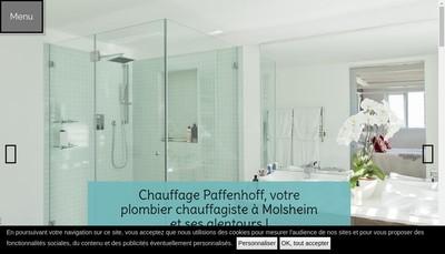 Site internet de Chauffage Paffenhoff
