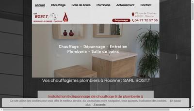 Site internet de SARL Bost T