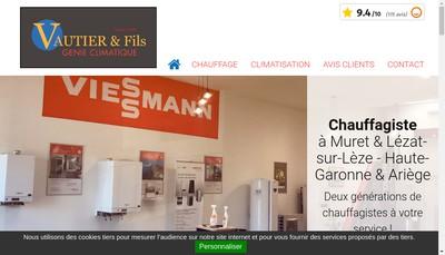 Site internet de Vautier SARL