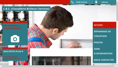 Site internet de Chaudieres Bruleurs Services
