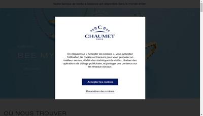 Site internet de SARL Chaumet