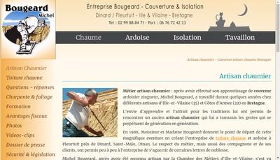Site internet de SARL Bougeard