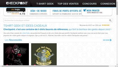Site internet de Checkpoint