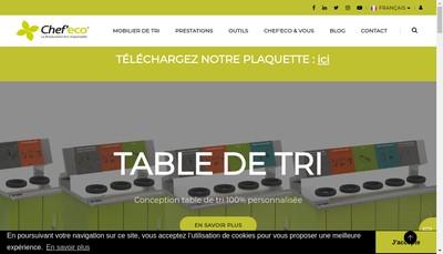 Site internet de Chef'Eco
