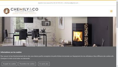 Site internet de Chemily&Co