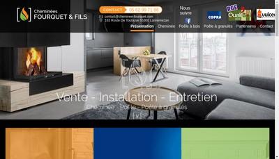 Site internet de Fourquet et Fils SARL