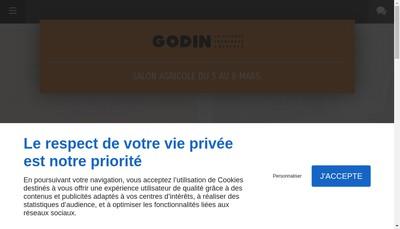 Site internet de Cheminées Godin Laulhé