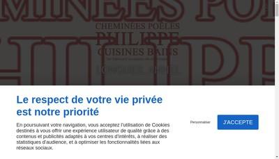 Site internet de Les Cheminees Compiegnoises