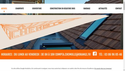Site internet de Chemolle