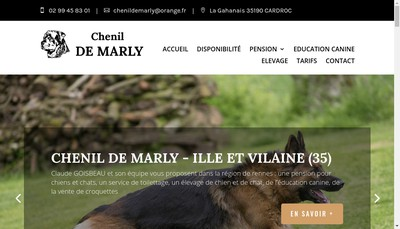 Site internet de Chenil de Marly