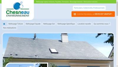 Site internet de Chesneau Environnement