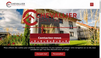 Site internet de SARL Chevallier