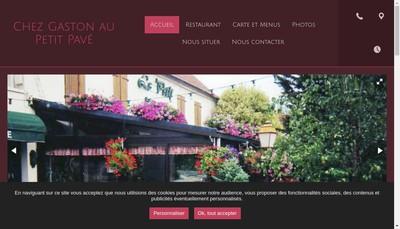 Site internet de Au Petit Pave