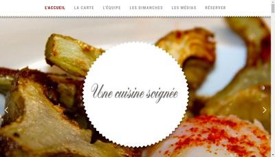 Site internet de Chez Lucien