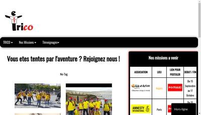Site internet de Trico