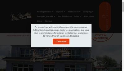 Site internet de Chez Mireille