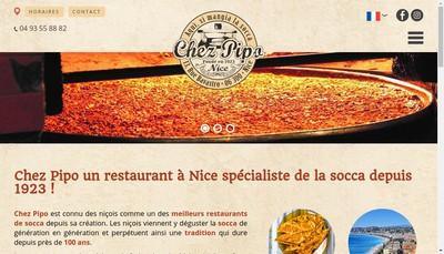 Site internet de Chez Pipo