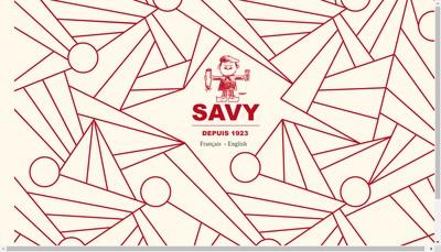 Site internet de Chez Savy