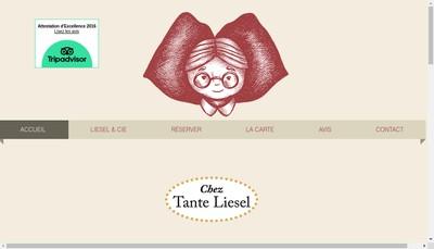 Site internet de Chez Tante Liesel