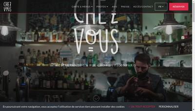 Site internet de Chez Vous