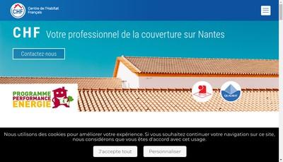 Site internet de Chf - Centre de l'Habitat Francais