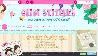 Site internet de Chibi Stitches