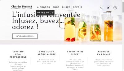 Site internet de Chic des Plantes !