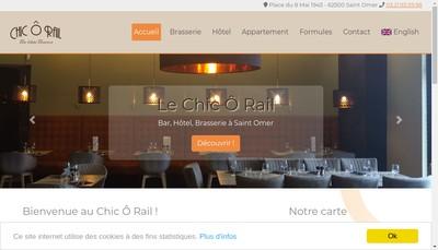Site internet de Chic O Rail