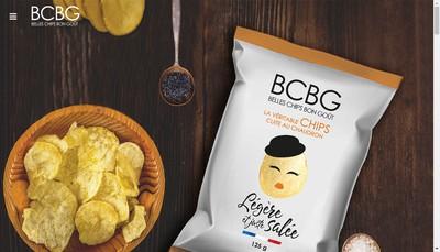 Site internet de La Ducale Chips Artisanales