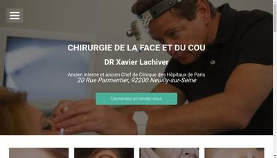 Site internet de Xavier Lachiver